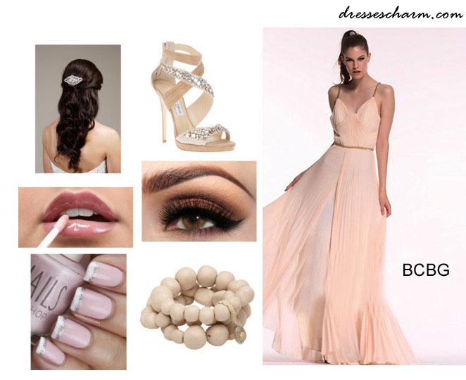 A Romantic Pink Long Dress By Bcbg Aliceblue1212 S Blog